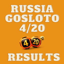Russia Gosloto 4/20 Results Tuesday 27 July 2021