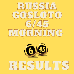 Russia Gosloto Morning Results Tuesday 27 July 2021